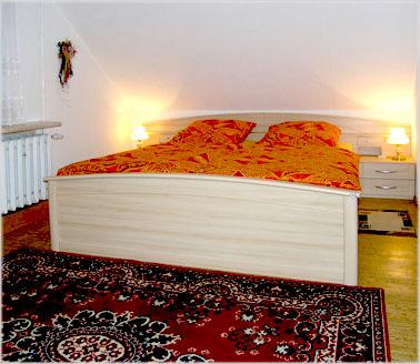 Ausstattung Schlafzimmer - Ferienwohnung \